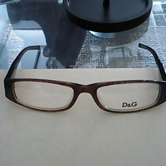 Dolce & gabbana prescription eye frames A tortoise brown color Dolce & Gabbana Accessories