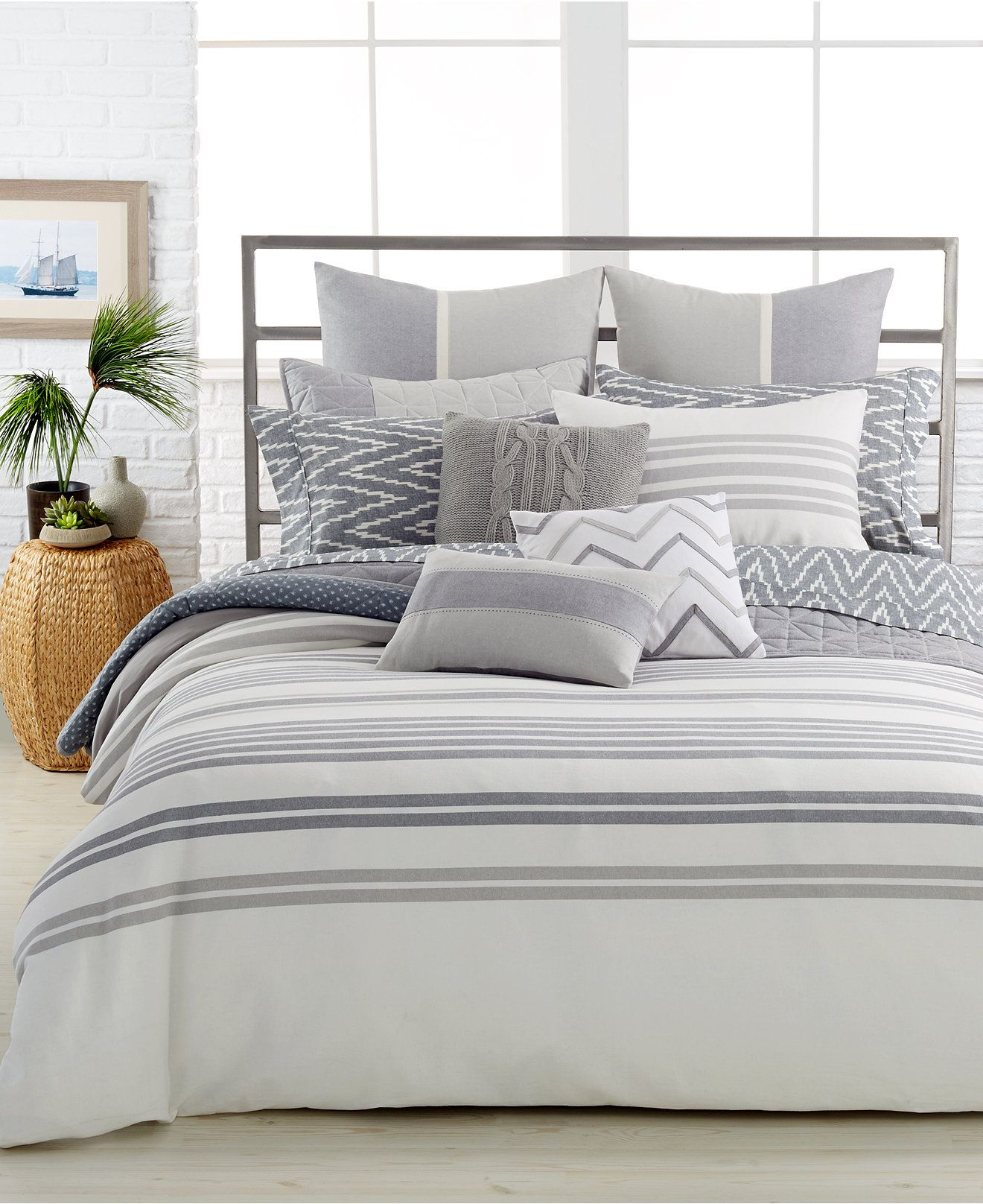 Nautica Home Decor: Nautica Home Margate Twin Duvet Cover Mini Set