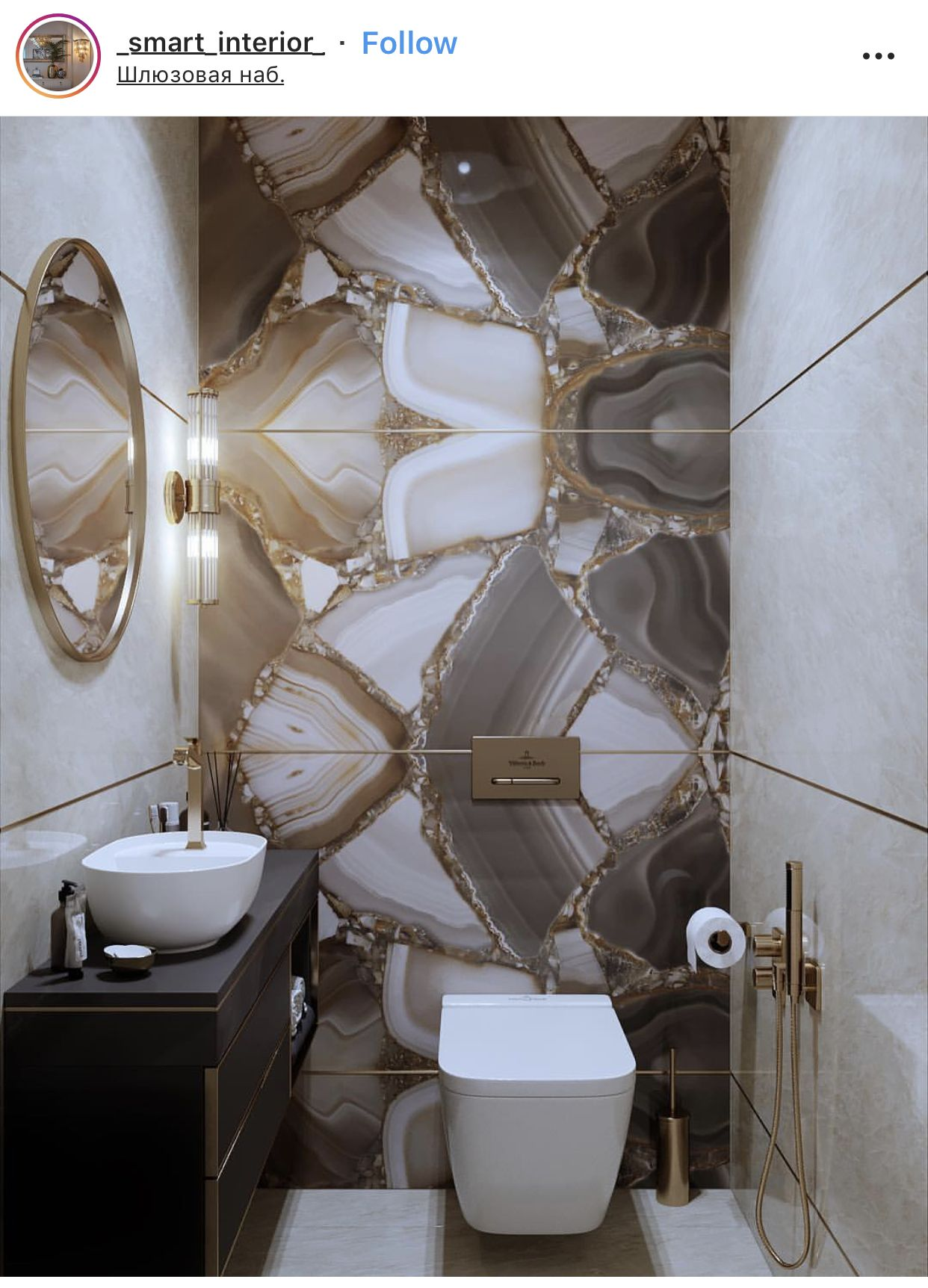 Exquisite Powder Room Diseno De Banos