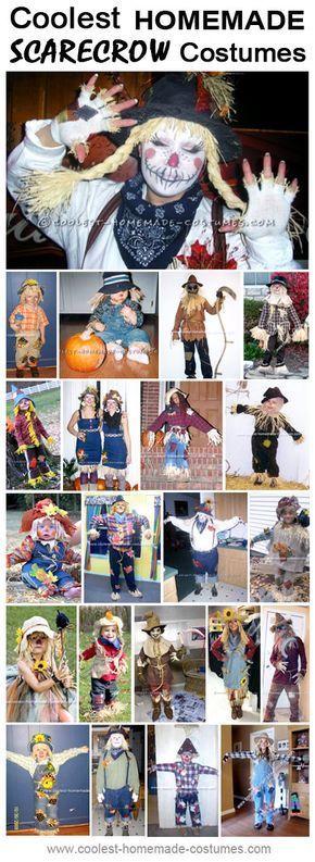 Coolest Homemade Scarecrow Costume Ideas #scarecrowcostumediy