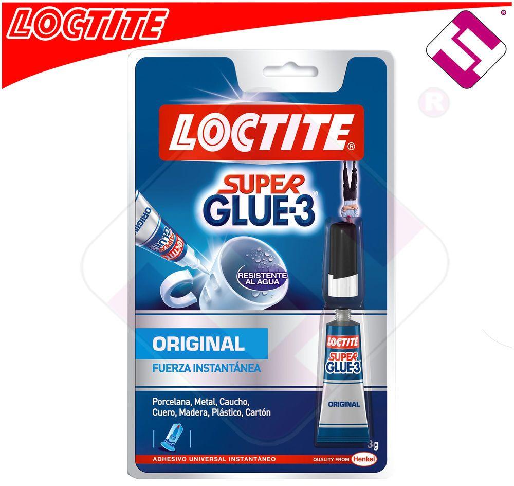 Pegamento super glue 3 loctite 3 gramos original pega todo - Loctite super glue 3 precio ...