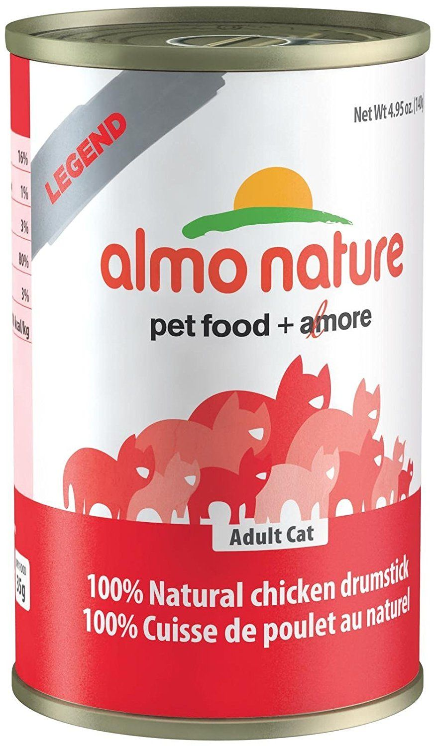Almo 4 94 Oz Legend Chicken Drumsticks Canned Cat Food 24 Case Medium Remarkable Product Available Now This Is A Canned Cat Food Cat Food Food Animals