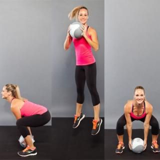 90-Degree Squat Jumps