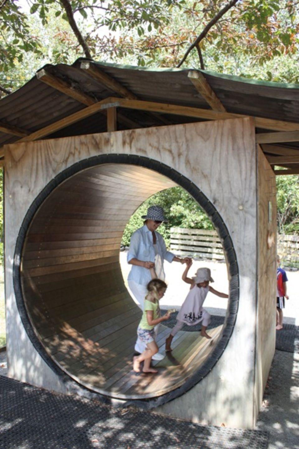 Human Hamster Wheel! Waterworks, Outdoor bed, Travel reviews