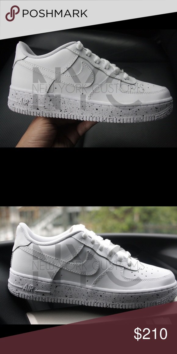 official photos e122c 3628e Speckle Nike Air Force 1 Low Oreo Splatter Custom This listing is for a custom  designed