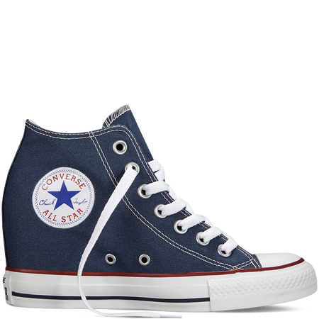 Converse all star chucks blue wedges