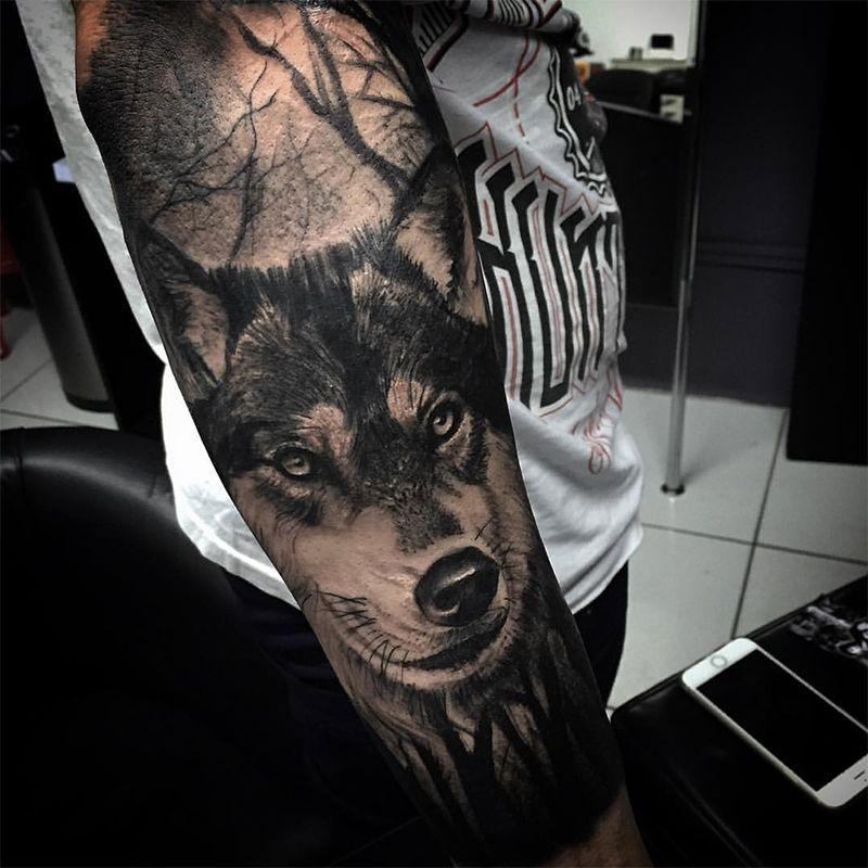 Chico Morbene Tatoo Pinterest Chicas, Lobos y Tatuajes de lobo