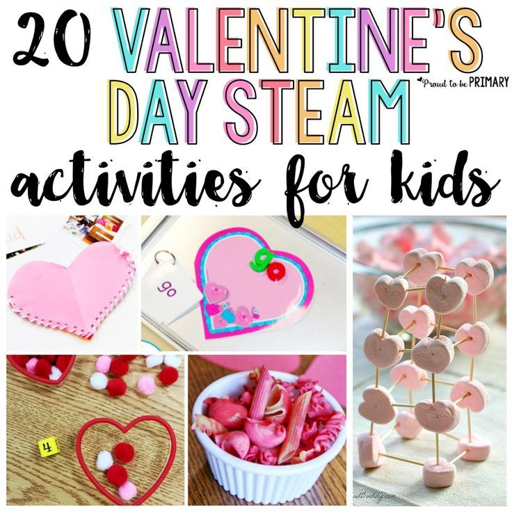 20 valentine 39 s day activities for kids make it a steam holiday friendship theme. Black Bedroom Furniture Sets. Home Design Ideas