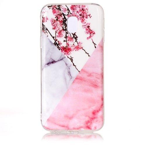 coque samsung j3 2017 marbre rose