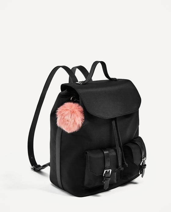 43e4bb925138 ZARA - TRF - BACKPACK WITH POCKETS