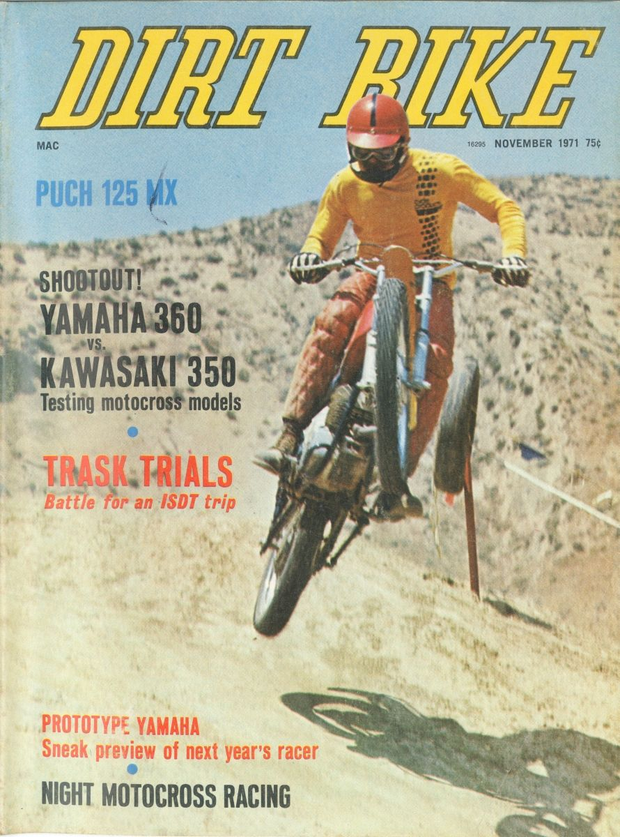 November 1973 Vintage Motocross Motorcycle Magazine Dirt Bike