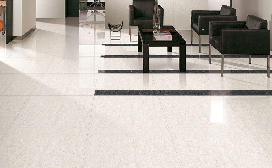 Regal Porcelain Floor Tile Looks Like Polished Limestone Stone