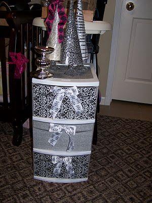Revamp Old Plastic Storage Dresser Diy Diy Furniture