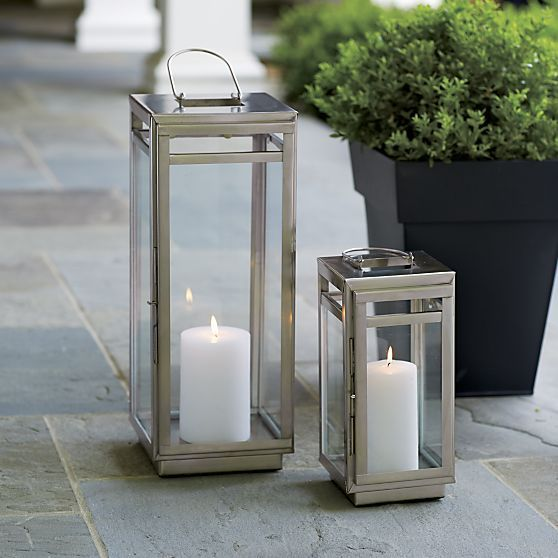 Dunley Metal Lanterns Crate And Barrel At Home In 2019