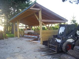 Sawmill shed and other buildings pictures | Portable Sawmills