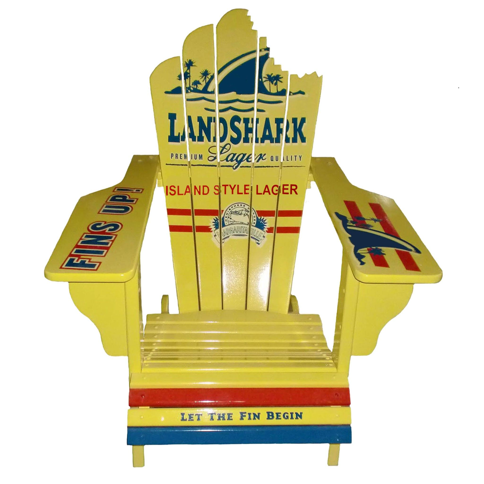 margaritaville chairs for sale pictures of barber landshark adirondack chair screams summer this is a
