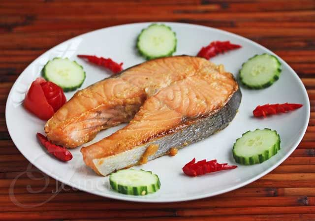 Easy Miso Glazed Salmon Recipe - Jeanettes Healthy Living @Jeanette | Jeanette's Healthy Living