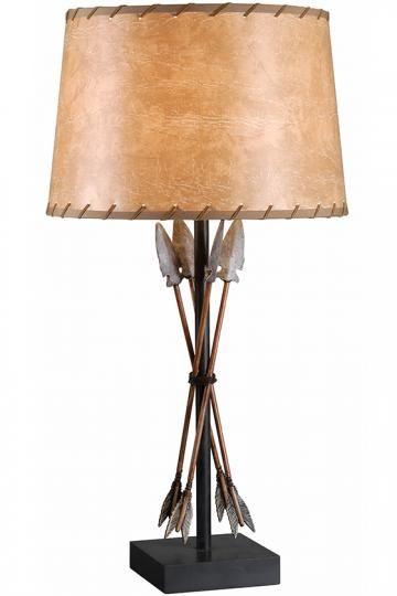Bound Arrow Table Lamp Western Lamps Unique Lamps Western Lamps Unique Lamps Table Lamp