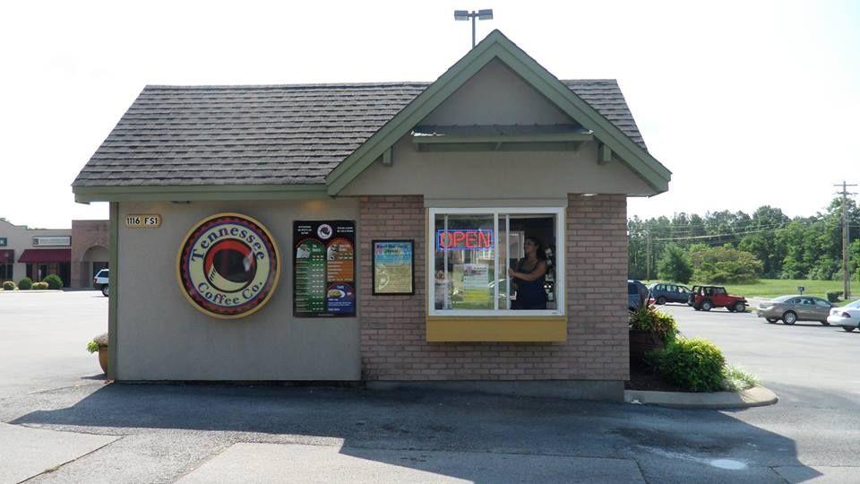 Coffee Drive Thru Shop Columbia Tn Coffee Shop Business Drive Thru Coffee Coffee Stands