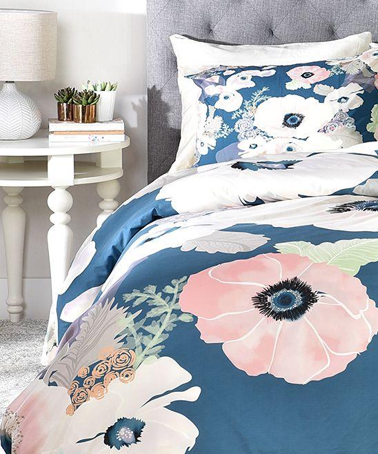 Khristian A Howell Une Femme In Blue Duvet Cover