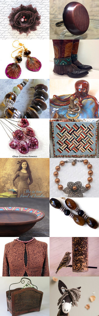 the color and texture of autumn by Beth Byrd on…