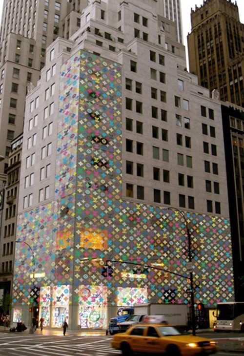 110307395 Louis Vuitton 5th Ave. Store Design by Takashi Murakami | Say What ...
