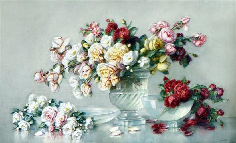 Isidore Rosenstock Francais 1880 1956 Cvety Kartiny Rozy