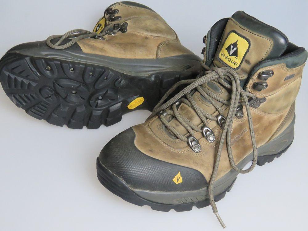 f41421f6918 VASQUE Wasatch GTX GORTEX Hiking Boots 7166 Men's US Size 10.5 WIDE ...