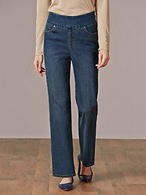 EASY-ON Jeans runs large