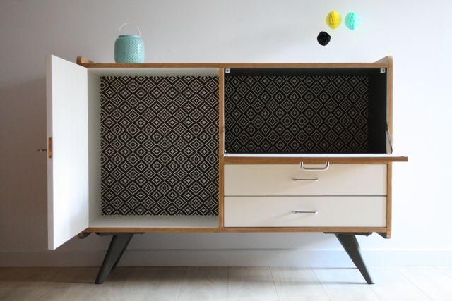 buffet vintage mobilier de salon