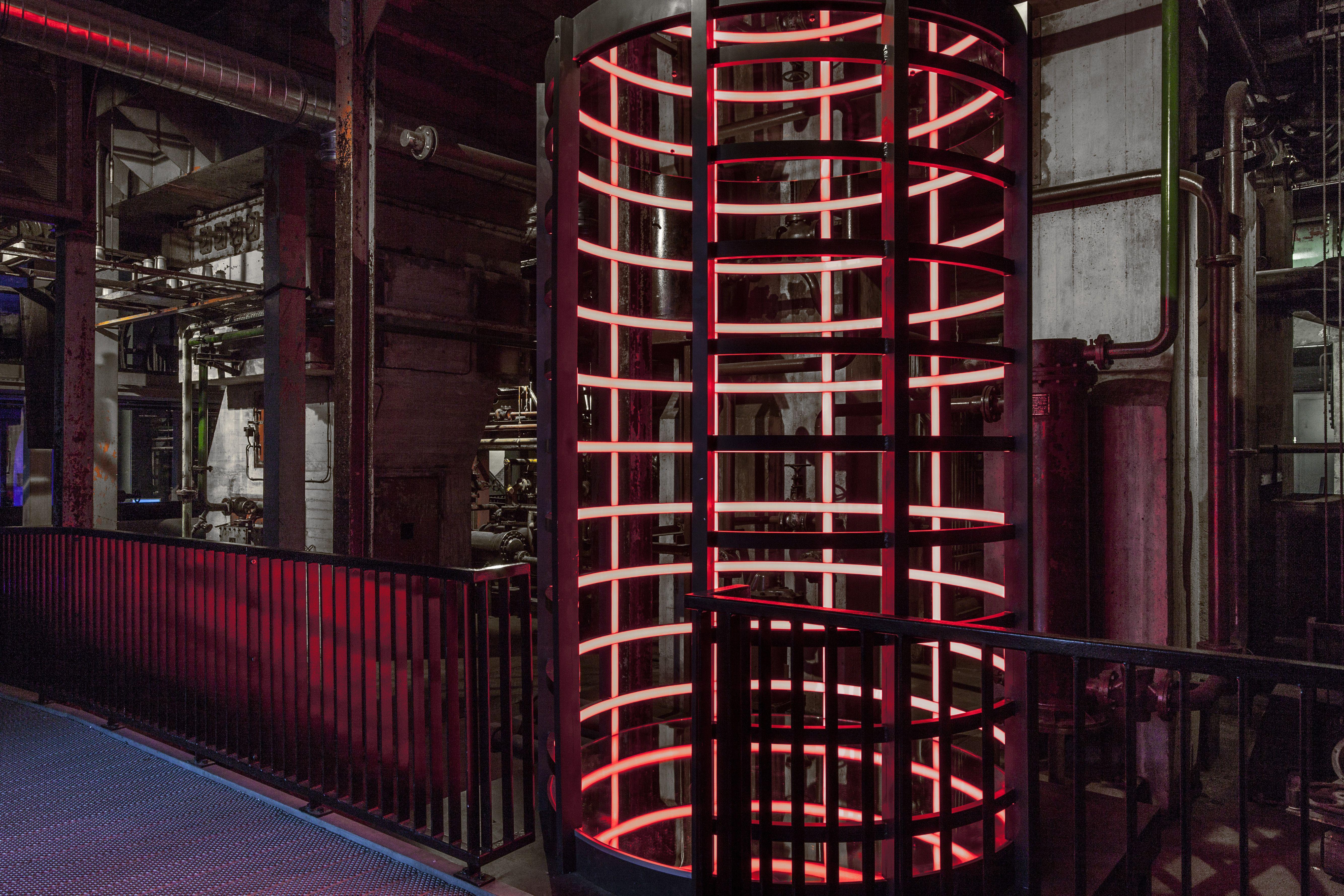 LED projecten, De Verdieping Heusden-Zolder België | Kunstwerken met ...