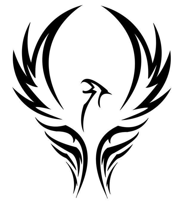 Tatuaje de ave fenix pinterest for Fenix tribal tattoo