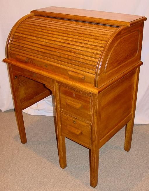 Antique Childs Roll Top Desk - Antique Childs Roll Top Desk Child Desk Pinterest Desks
