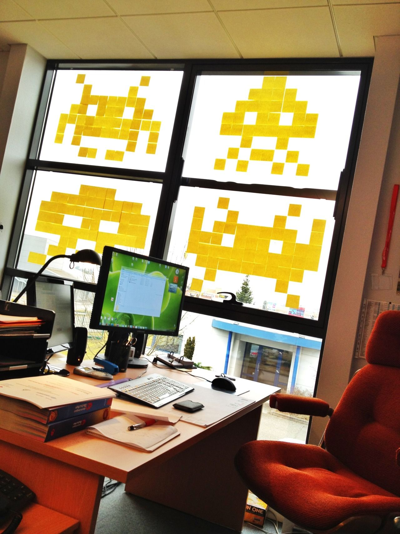 Space invaders | Post it War | Pinterest | Space invaders