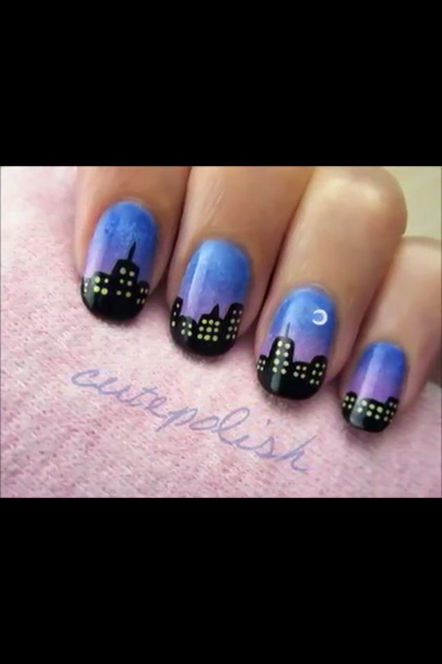 Cute polish new york sky line available on youtube. Dont forgett to ...