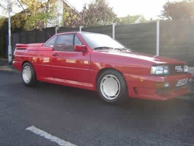 1985 Audi Quattro Tresser Turbo - Amazing rare car, one of only 20 believed to have been built - £19,995.00