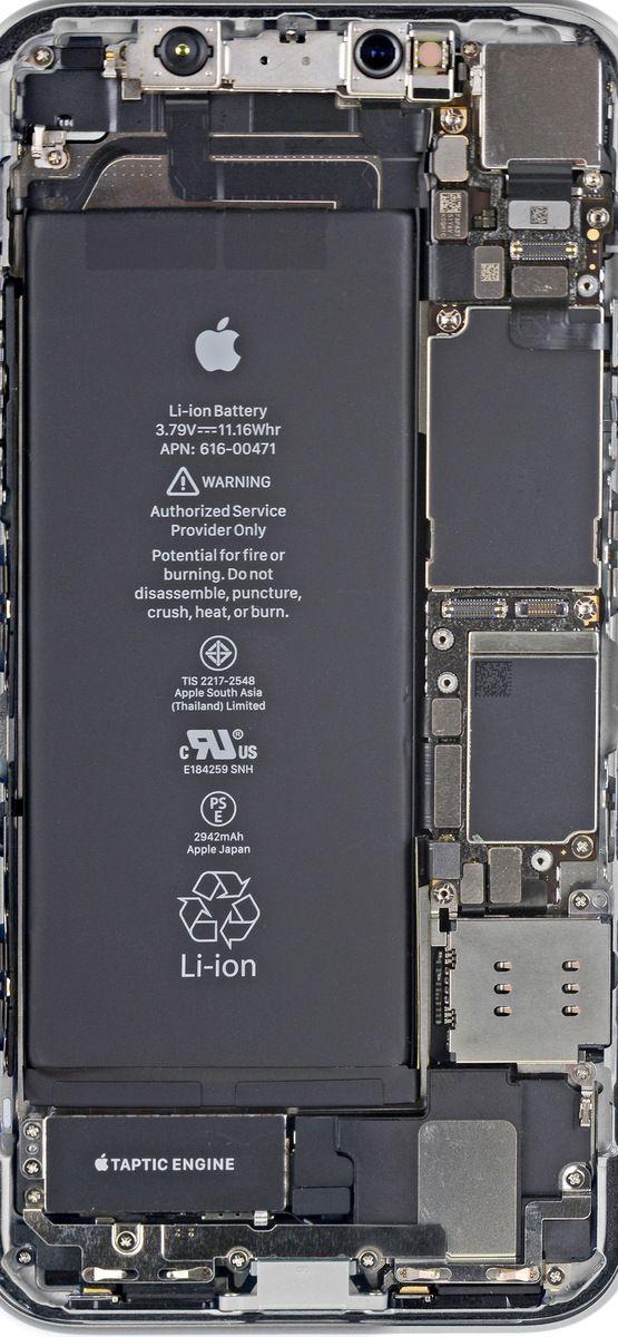 iFixit divulga wallpapers com os componentes internos do iPhone XR – MacMagazine