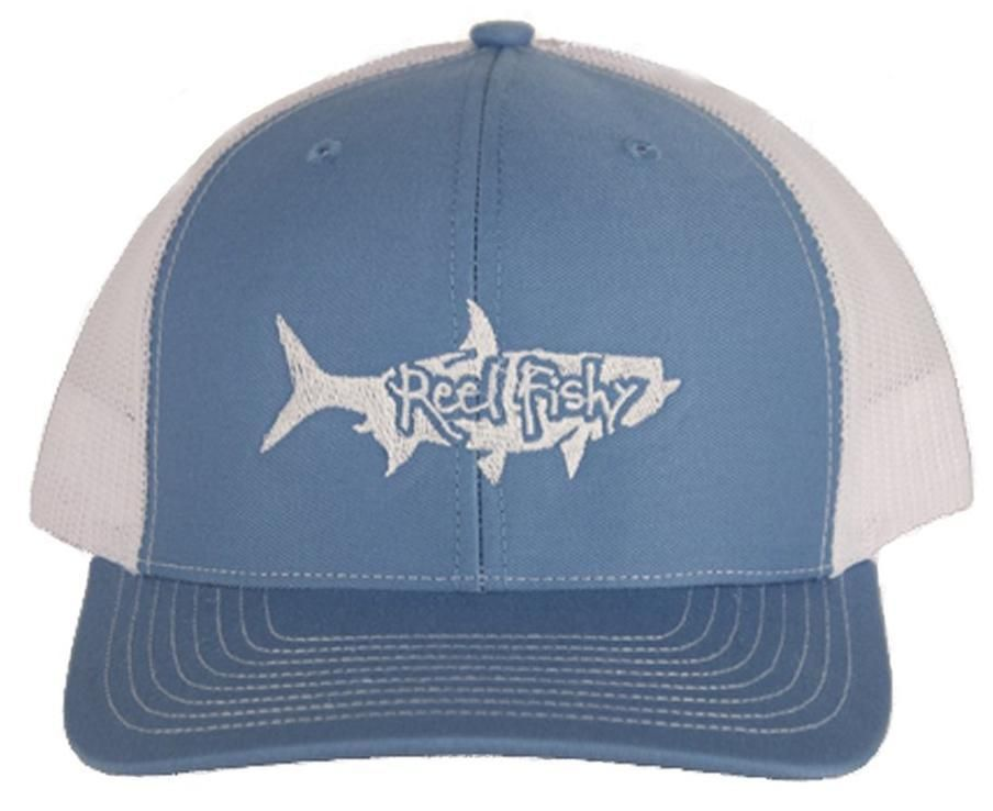 4b6e9903d422c Tarpon Fishing Structured Trucker Hats - Reel Fishy Apparel  fashion   clothing  shoes  accessories  mensaccessories  hats (ebay link)