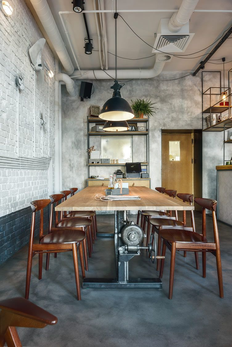 Industriele Keuken Restaurant All Aboard The Nostalgia Train At Bar And Kitchen Inspired By