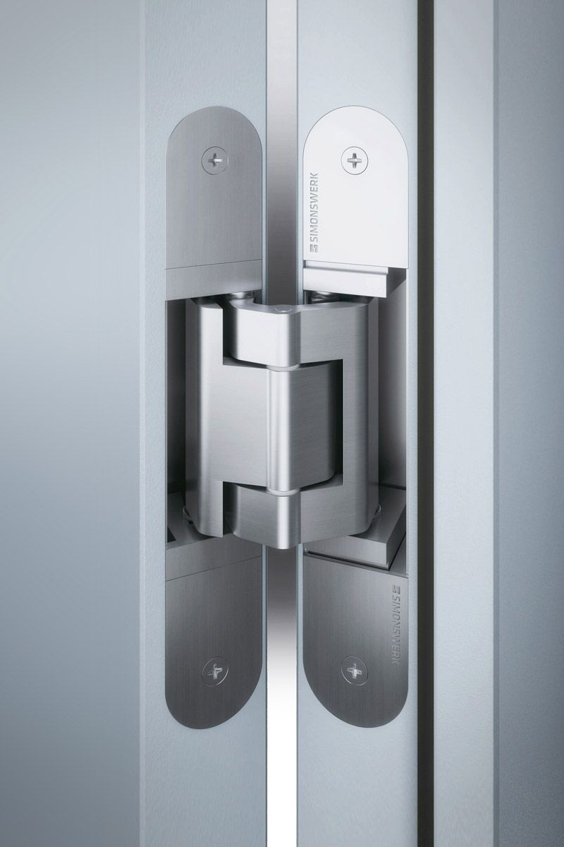 Concealed Hinge Example Concealed Door Hinges Door Hardware Sliding Door Handles