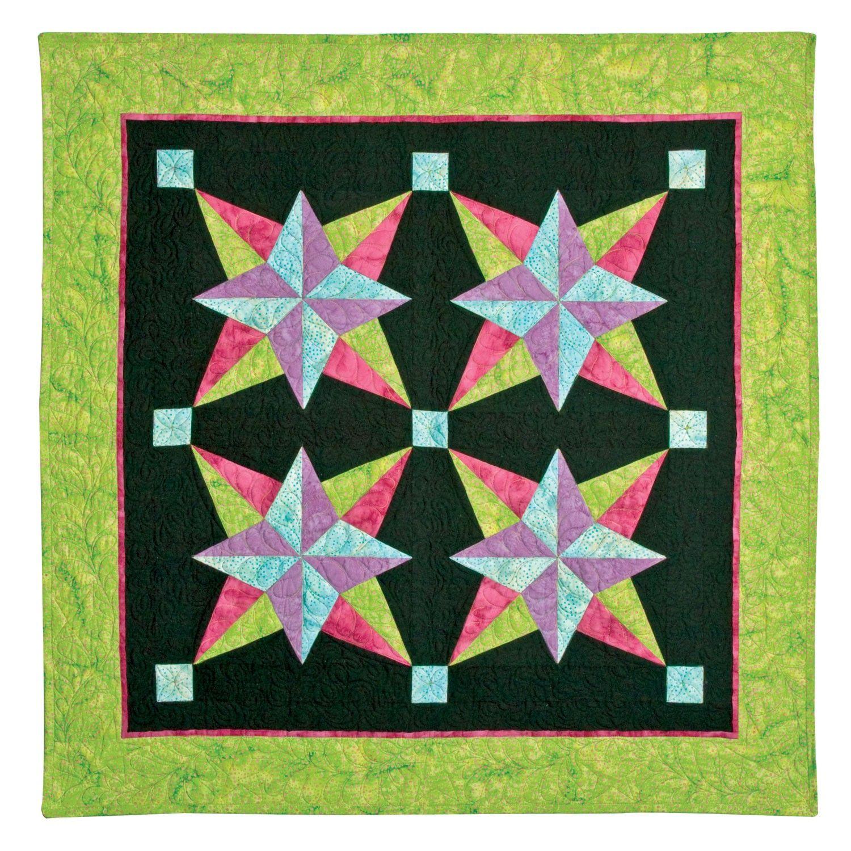 GO! Blazing Star Wall Hanging Pattern (PQ4607i) | Ideas for ... : blazing star quilt - Adamdwight.com