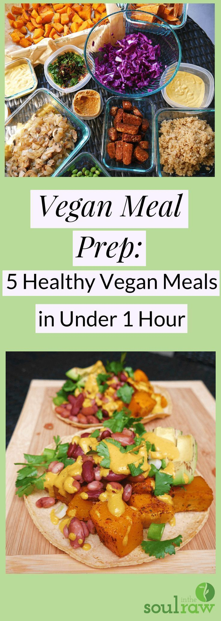 Vegan Meal Prep Archives  Soul in the Raw Vegan meal prep is literally my secret to making vegan meals fast Like super fast In this vegan meal prep blog post I am sharing...