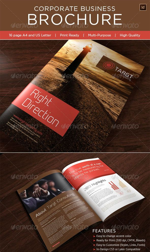 100 Amazing Photo Realistic Free Business Brochure Designs