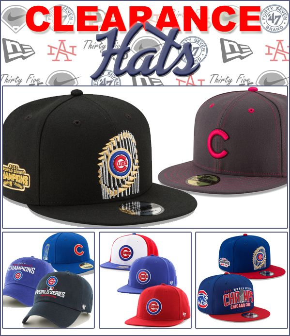 012671435 HUGE OVERSTOCK Sale: Chicago Cubs Hats 🚩 #ChicagoCubs #Cubs #FlyTheW #MLB  #ThatsCub