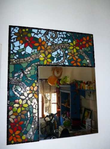 Espejos con dise os unicos en venecitas y azulejos - Espejos con diseno ...