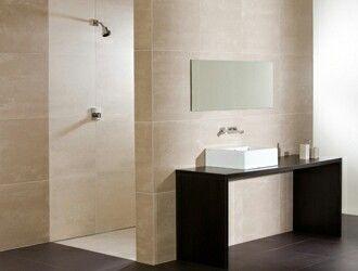 Badkamer Lichte Tegels : Lichte tegels douche meubel tegen douchewand home