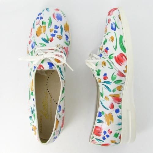 tulip printed shoes