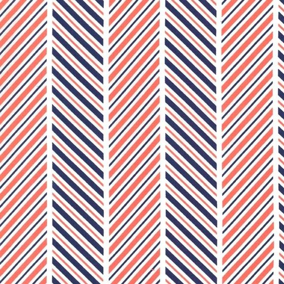 Michael Miller, Which Way Stripe Coral