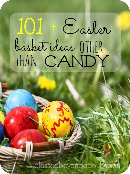 101 easter basket stuffer ideas other than candy pinterest check out over 101 easter basket ideas that wont cause cavities lots of fun and creative ideas negle Choice Image
