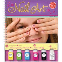 I'm convinced that the nail art trend is because all of the pre-teen girls who had this book are now fashionable women